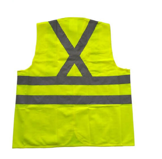 Cheap Custom Hi-Vis Roadway High Visibility Reflective Warning Vest pictures & photos