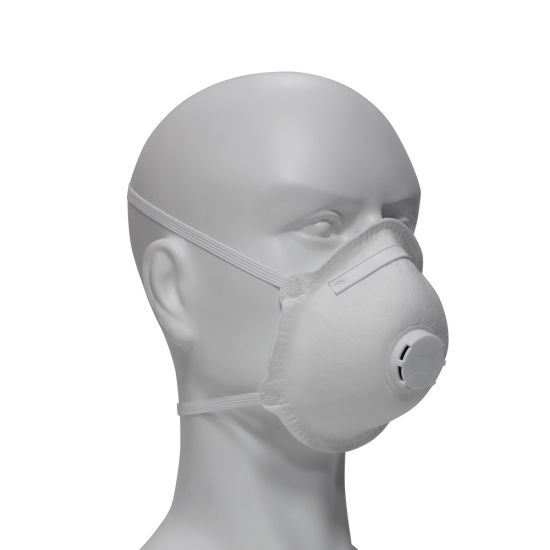 Disposable 5 Ply Ear Loop Cup Shape KN95 Face Mask with Filter Respirator