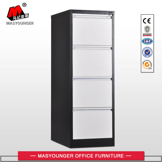 Steel Metal Office Furniture 4 Drawer Storage Vertical Cheap Filing Cabinet pictures & photos