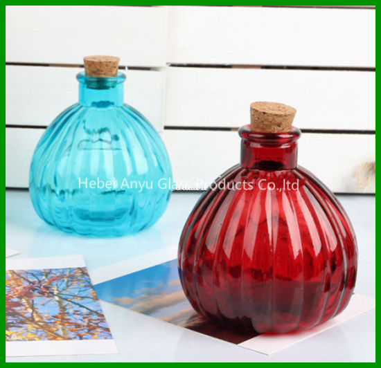 150ml Home Docor Aroma Diffuser Glass Bottle with Wooden Cork