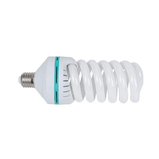 CFL Full Spiral Laser Color Box 5500K 6500K 8000K Cool White E27 Energy Saving Lamp