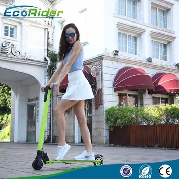 2016 New Mini Portable Brushless Motor 350W Foldable Electric Scooter pictures & photos
