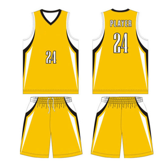 Wholesale Custom Basketball Jerseys with Breathable Fabric pictures & photos