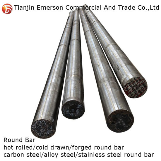 AISI 1022 1020 1045 4140 Structural Carbon Alloy Steel Round Bar Forged Bars