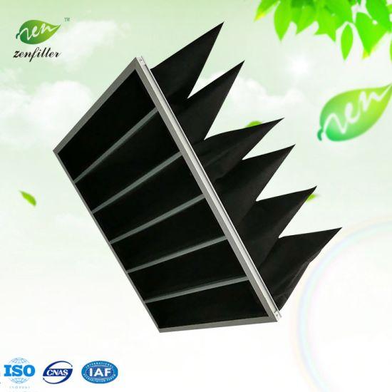 Activated Carbon Pocket Filter Bag Air Filter