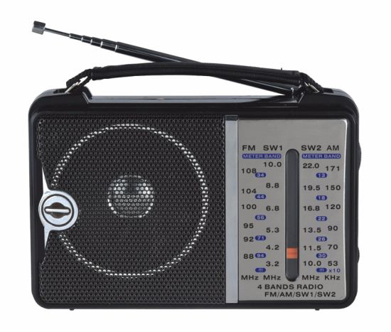 FM/Am/Sw1-2 4 Bands Portable Radio pictures & photos