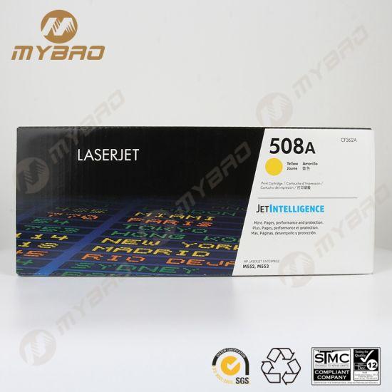 Printer Toner 508A Toner Cartridge for HP CF360A CF361A CF362A CF363A