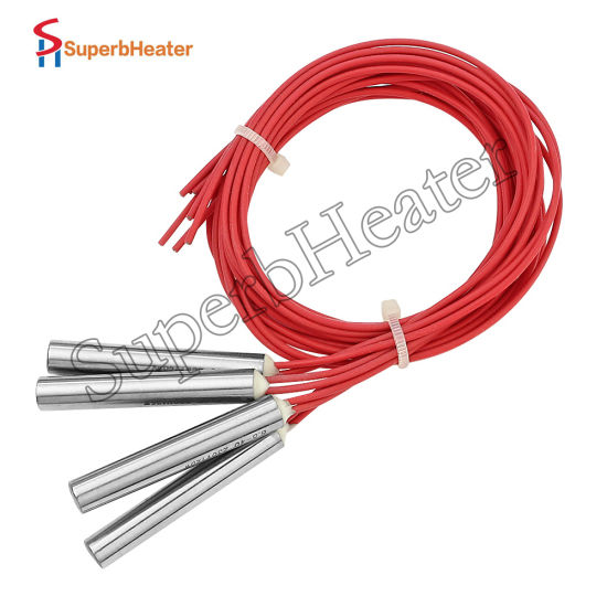 electric heating element cartridge heater with teflon lead wire for hot  knife