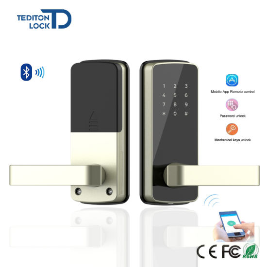 Beau Bluetooth Smart Phone APP Controlled Digital Door Lock For Airbnb Apartment