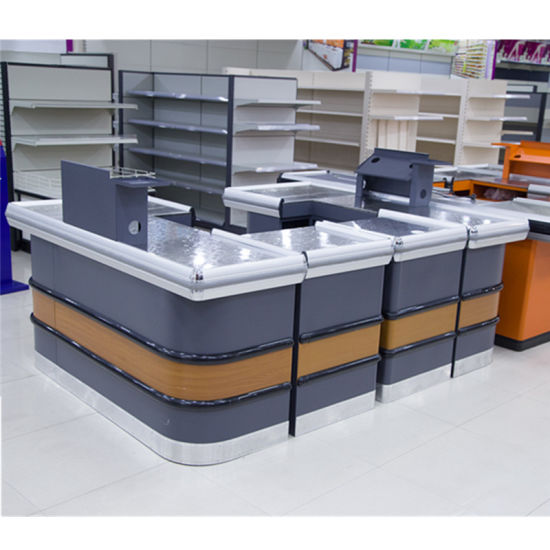 China Supermarket Retail Cashier Department Store Checkout Counter ...