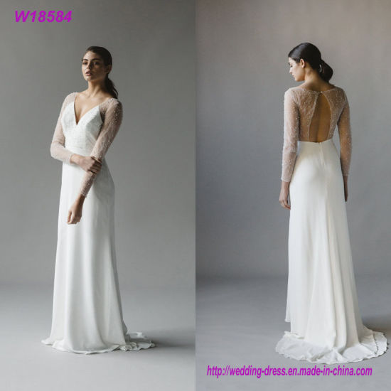 China Modern Nice Wedding Dress Color Wedding Dresses Bridal Wedding ...