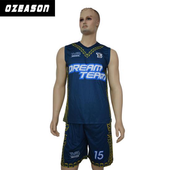063b6686ddb9 Manufacturer Wholesale Cheap Basketball Uniforms Custom Team Basketball  Uniforms (BK032) pictures   photos
