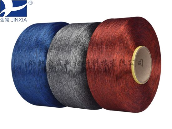 FDY Dope Dyed 120d/48f Polyester Yarn pictures & photos