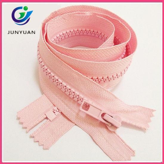 Color Match Plastic Zipper Dresses for Women