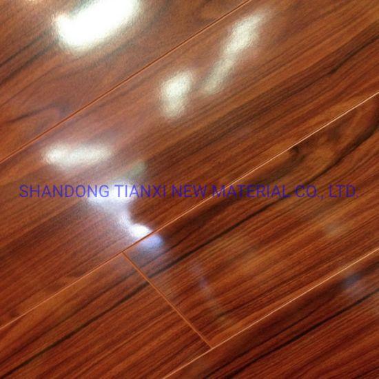 8mm and 12mm Floating Wood Tile Flooring Laminated Flooring