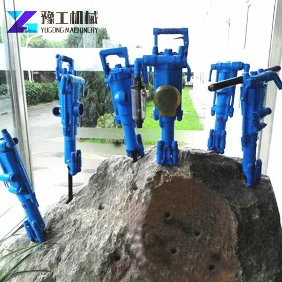 Mining Drilling Air Leg Jack Hammer Yt28 Pneumatic Rock Drill