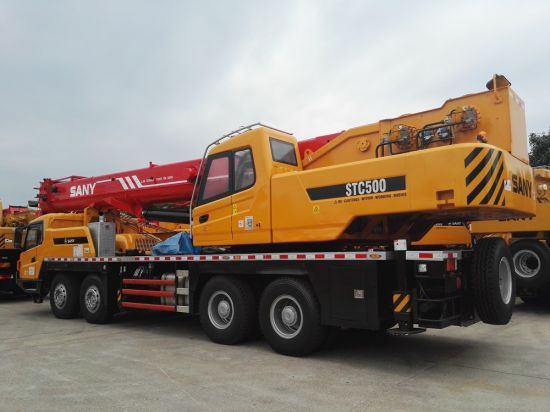 50t Sany Telescopic Boom Mobile Truck Crane Stc500s pictures & photos