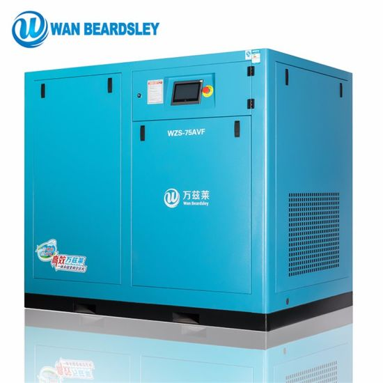 15HP 11kw 35% Energy Saving Rate Industrial Oilless Stationary Pm VSD Rotary Screw Air Compressor pictures & photos