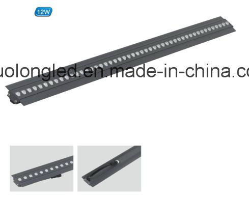 Slim LED Light Bar 12W with Wall Recessed pictures & photos