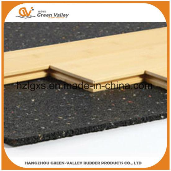 Sound Reduction Acoustic Rubber Mat Sheet Underlay Wooden Floor