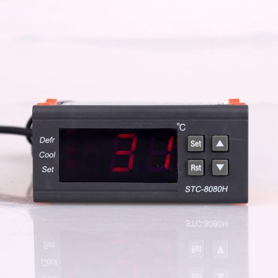 Programmable Refrigeration Digital Temperature Controller Stc-8000h
