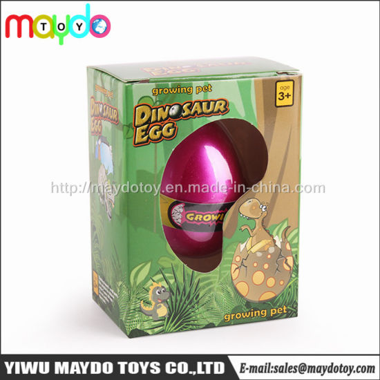 Magical Hatching Dinosaur Egg Growing Pet Funny Gift Toys for Kids
