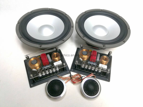 """6.5"""" 2 Way Crossover Professional Component Speaker for Car Audio X365"""