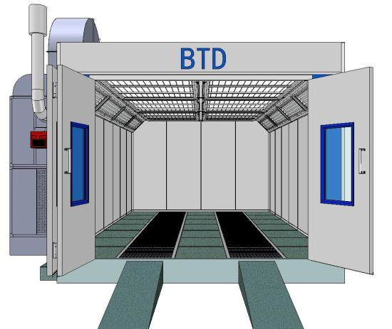 Painting Booth Garage Equipment Paint Booths with 2 Years Warranty Time pictures & photos