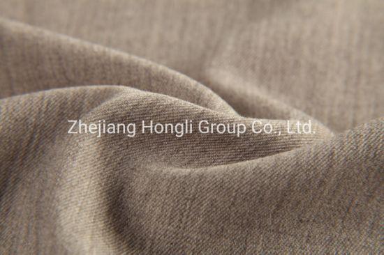 Twill Tr Span Fabric 290GSM Melange Color