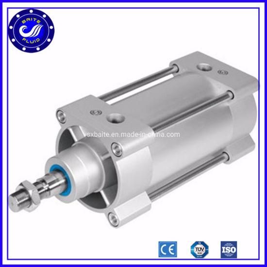 Double Piston Adjustable Acting Pneumatic Cylinder