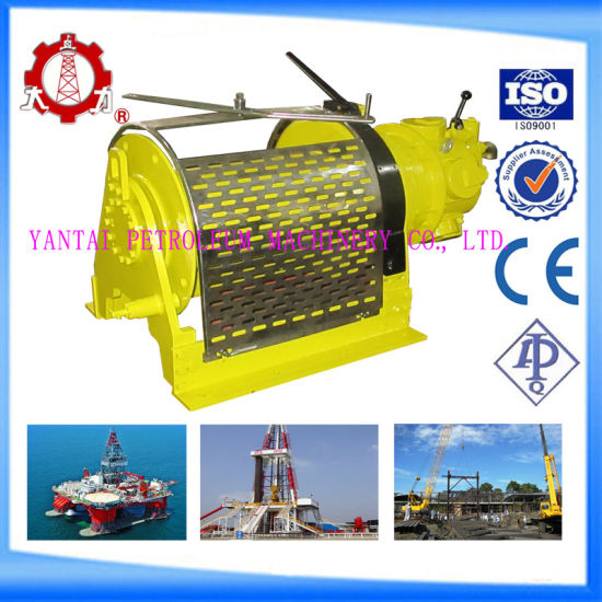 ABS Marine 5 Ton Mooring Winch for Offshore Drilling Rig pictures & photos