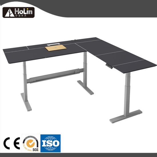 Sit Stand Corner Office Computer Desk