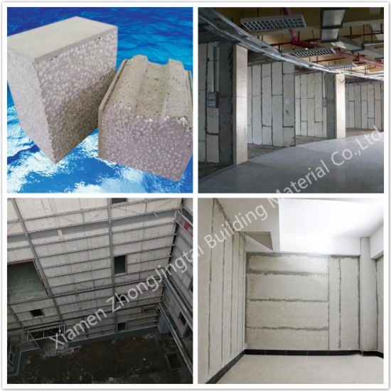 China Sandwich Panel-Insulation EPS Fiber Cement Internal, External