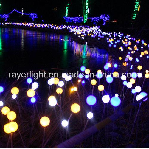 24V Rose Flower String Light LED Holiday Twinkle Light with Land Support