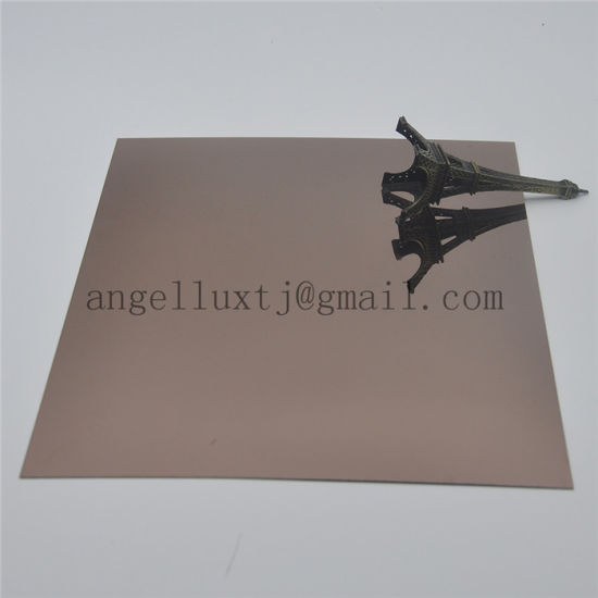 304 Black Color Mirror Finish Stainless Steel Sheet pictures & photos