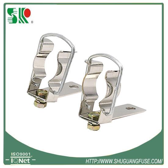 Small Metal Clip Copper Fuse Holder