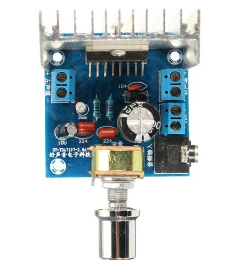 Tda7297 Amplifier Board Double Track No Noise
