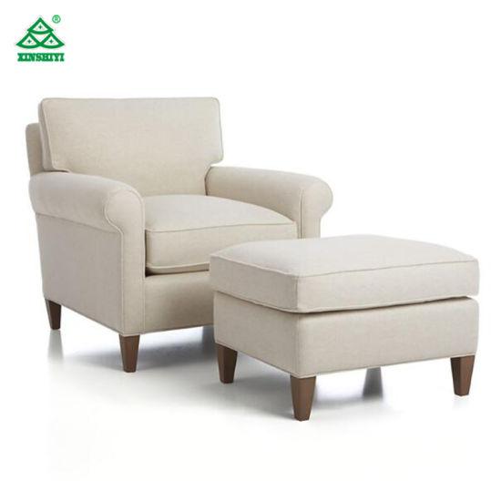 Fabric Hotel Living Room Single Sofa