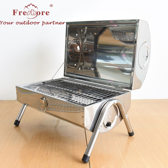 China Barbeque Outdoor Portable Folding Barbeque Grill Charcoal
