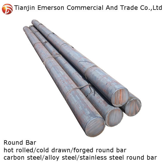 Professional Supplier DIN 1.7225 / AISI 4140 Polished Bright Surface Steel Round Bar