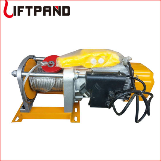 Windlass Scaffold Electric Construction Rope Pulley Winch