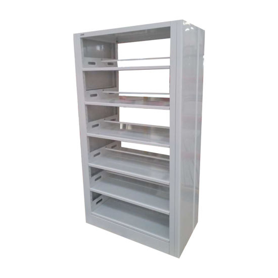 Modern Gold Bookcase Glass Metal Display Book Shelf Storage Shelving Organizer