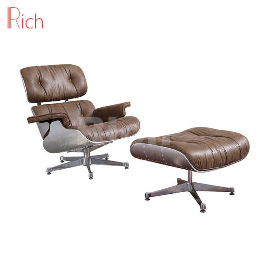 High Quality Replica Designer Leather Eames Lounge Chair ...