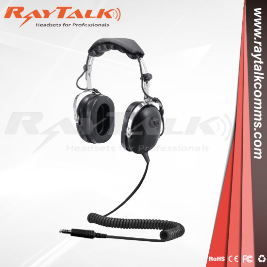 helicopter noise cancelling headset with flexible microphone pictures &  photos