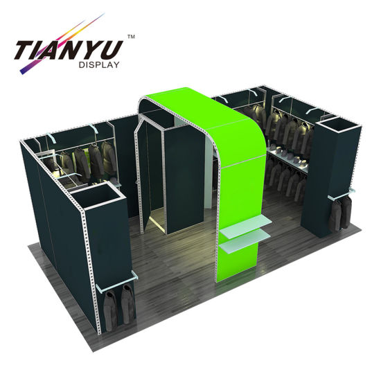 Hot Sale! Frame-Less Aluminum Fabric Exhibition Stand with 3D Models