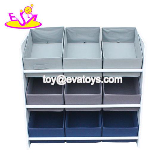 Toy Organizer Wooden Storage Bins
