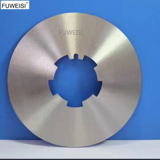 China Packaging Paper Cut Saw Blade Long Type Straight Shape