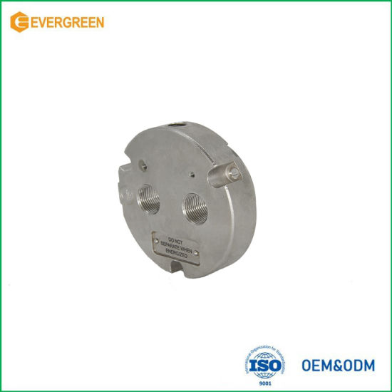 OEM 316L Base Cap Auto Parts CNC Machining Parts with ISO9001