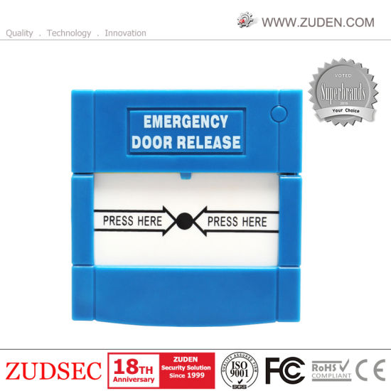 China Break Glass Fire Emergency Door Exit Release Button For