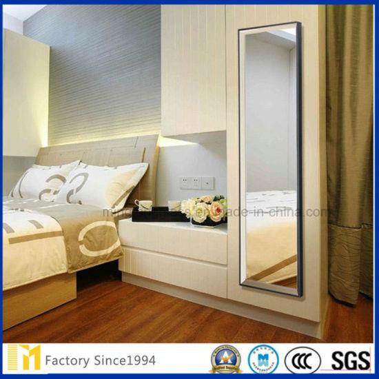 China Full Length Dressing Mirror Vanity Mirror Factory Price China Unframed Mirrors Full Length Wall Mirror
